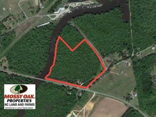 Reduced, 17 Acres of Waterfront : Roper : Washington County : North Carolina