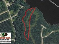 10 Acres of Waterfront Residential : Edenton : Chowan County : North Carolina