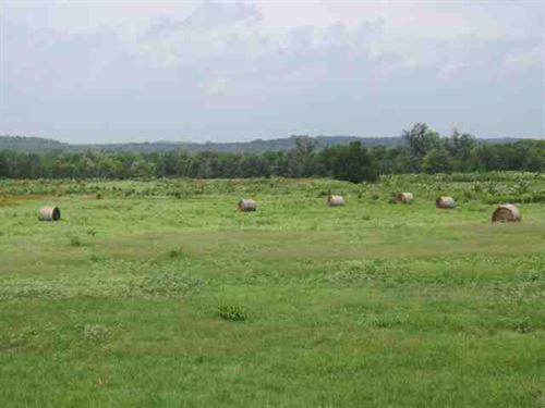 Cattle Ranch, Custom Hilltop Rock : Valliant : McCurtain County : Oklahoma