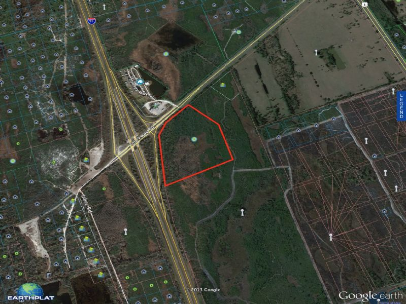 24 Acre Site At Exit 231 On I-95 : Scottsmoor : Brevard County : Florida