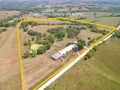 44 Acres M/L, Farm For Sale in Mad : Prole : Madison County : Iowa