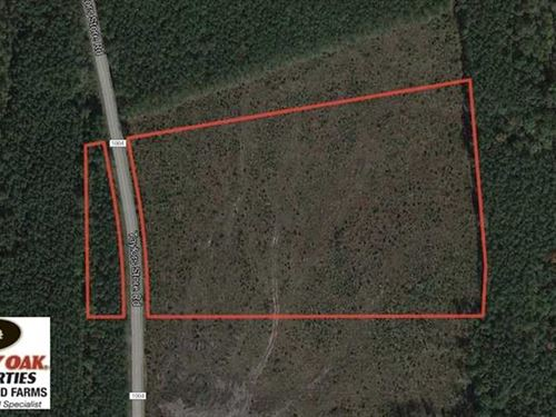 Reduced, 10 Acres of Residential : Whitakers : Nash County : North Carolina