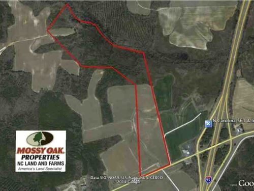 Reduced, Farm And Hunting Land : Enfield : Halifax County : North Carolina
