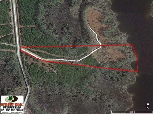 Reduced, 10.21 Acres of Waterfron : Scranton : Hyde County : North Carolina