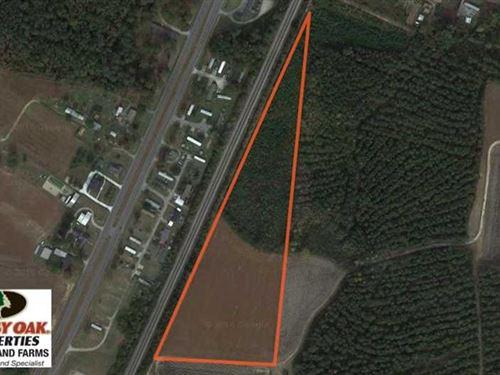 Under Contract, 11.75 Acres of Re : Elm City : Wilson County : North Carolina