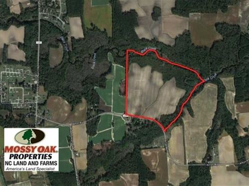 Under Contract, 65.57 Acres of Fa : Lucama : Wilson County : North Carolina