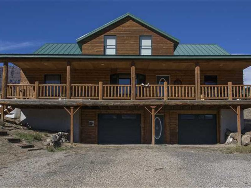 Recreational Land And Log Home For Ranch For Sale Cody