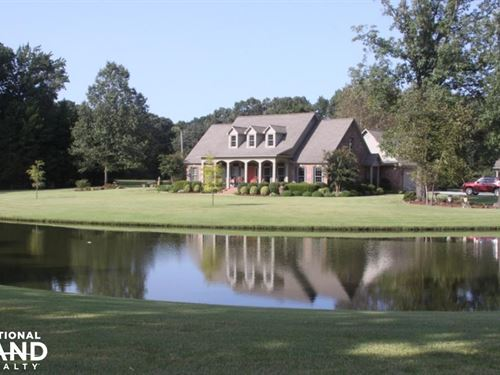 Custom Built Home on 33 Acre Horse : Hazen : Prairie County : Arkansas