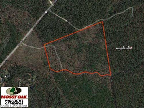 Under Contract, 33.6 Acres of Hun : Disputanta : Prince George County : Virginia