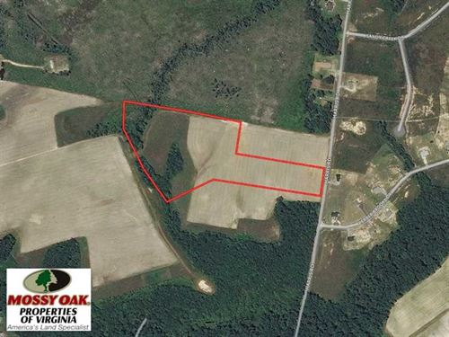 Reduced, 14 Acres of Farm Land Fo : Sedley : Southampton County : Virginia