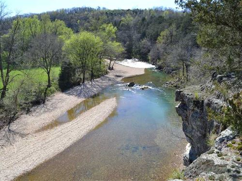 322 Acres With Big Creek Runni : Harriet : Searcy County : Arkansas