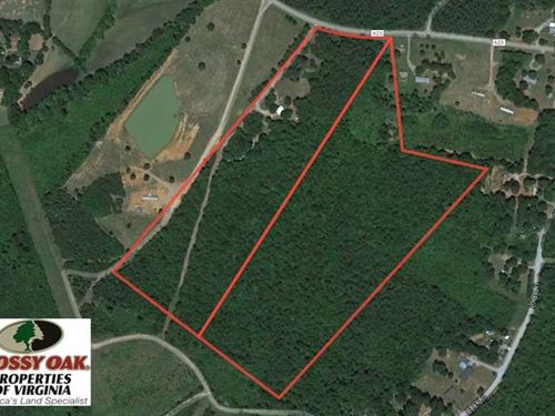 Under Contract, 42 Acres of Resid : Drakes Branch : Charlotte County : Virginia