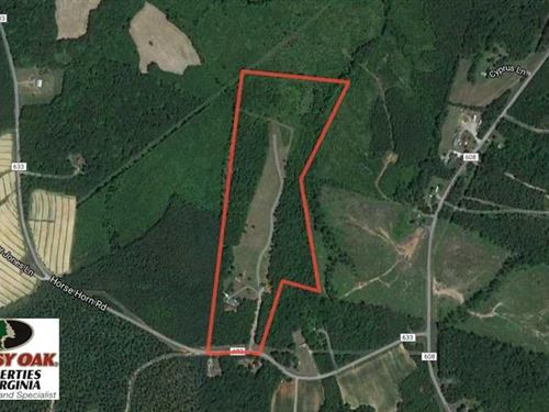 Under Contract, 35 Acres of Farm : Red Oak : Charlotte County : Virginia