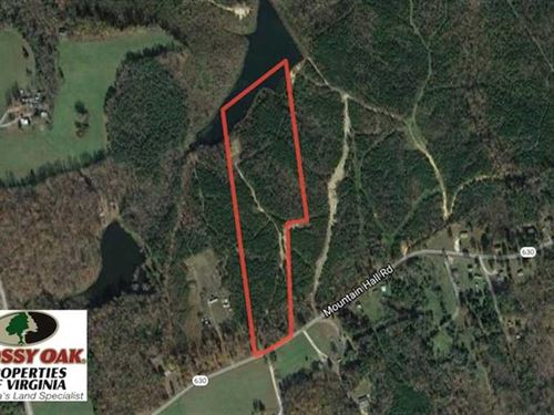 22.65 Acres of Recreational Land : Crewe : Nottoway County : Virginia