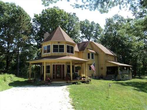 40 Acres Of Heaven On Earth In Sou : Reelsville : Putnam County : Indiana