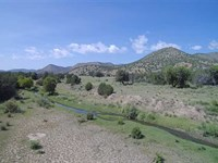 59 Acres With Rio Bonito River Fro : Lincoln : Lincoln County : New Mexico