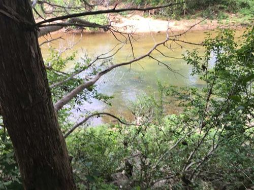 Strawberry River Frontage With Hig : Poughkeepsie : Sharp County : Arkansas