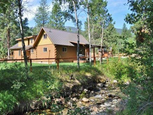Below Appraisal Wst. Mt Creekside : Hamilton : Ravalli County : Montana
