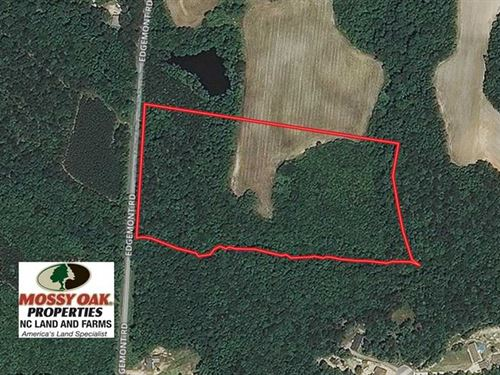 15.56 Acres of Timber And Developm : Wendell : Wake County : North Carolina