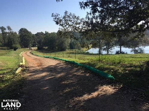 64.7 Acres, Pond, Fenced Pasture, : Roopville : Carroll County : Georgia