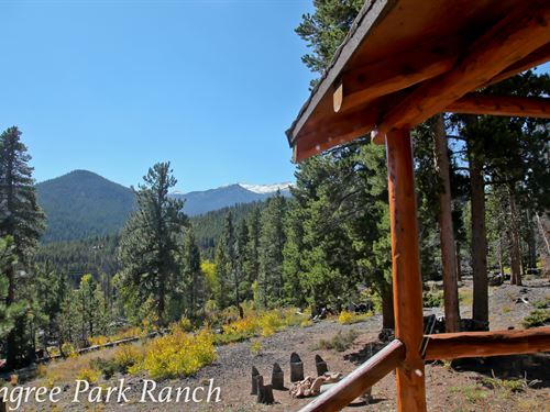 Pingree Park Ranch : Bellvue : Larimer County : Colorado