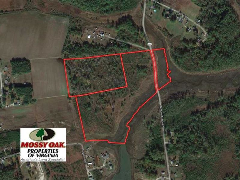 Hayes Virginia Map.33 Acres Of Waterfront Land For Sa Ranch For Sale Hayes
