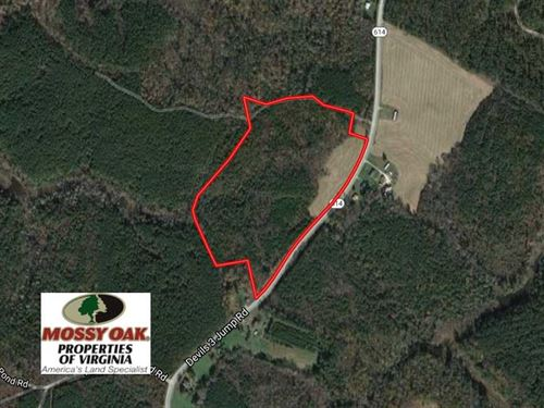 Reduced, 29 Acres of Residential : Little Plymouth : King And Queen County : Virginia