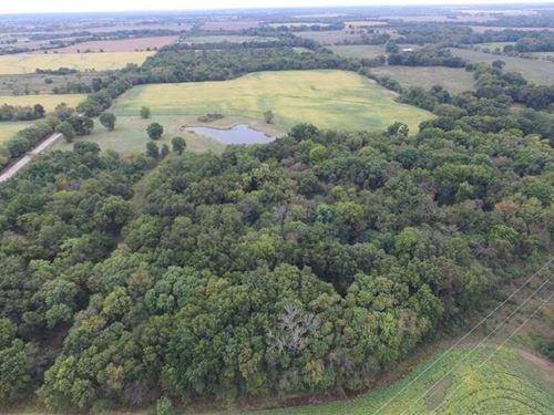 120 Acre Farm With Cabin For Sale : Oswego : Labette County : Kansas