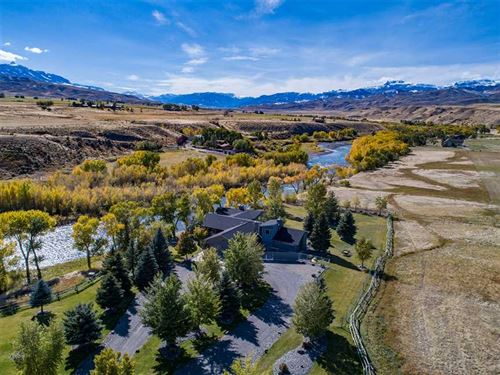 Three Bedroom, Four Bath Riverfron : Cody : Park County : Wyoming