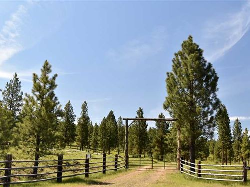 485 Acre Recreational Property Nea : Heppner : Morrow County : Oregon
