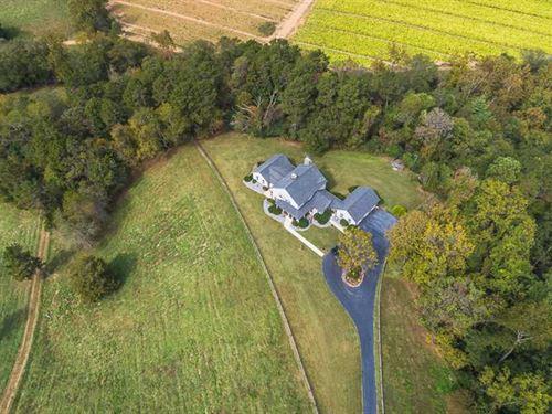 47 Acres + 4,687 Sqft Farm House : Jonesville : Yadkin County : North Carolina