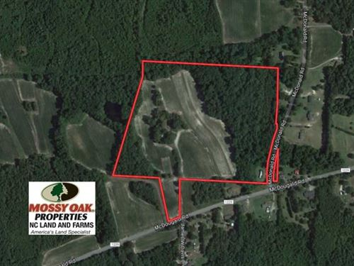 27.62 Acres of Farm And Timber Lan : Sanford : Harnett County : North Carolina
