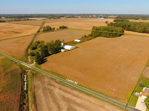 Farm Auction In St. Joesph Co., In : South Bend : St Joseph County : Indiana