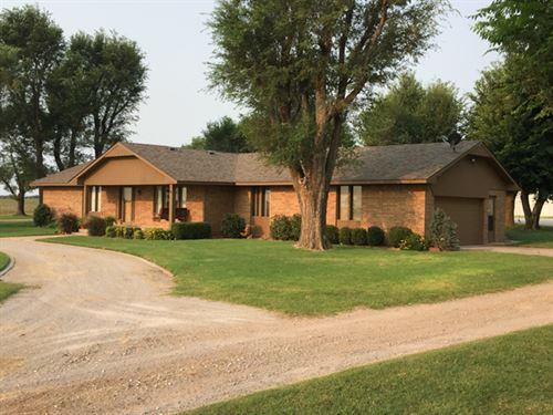 12/4/17 Auction Home And 160 Acres : Fairview : Major County : Oklahoma