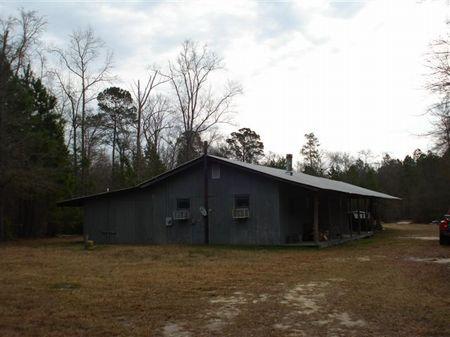 Sportsman's Paradise 358 Ac & Cabin : Oliver : Screven County : Georgia