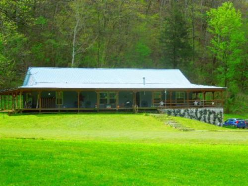 15.43 Ac W/ Ranch Home, Secluded : Celina : Clay County : Tennessee