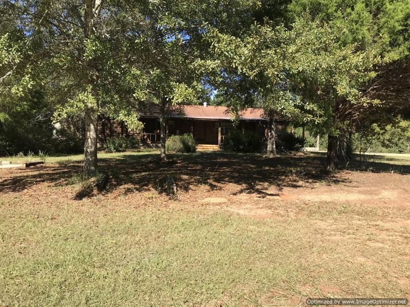 Beautiful home on 40 acres ranch for sale for Ranches for sale in mississippi