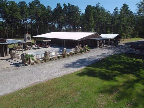 Ogeechee River House : Midville : Burke County : Georgia