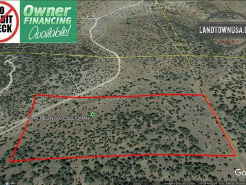 20 Acres Nw Of Seligman Great Vi : Seligman : Yavapai County : Arizona