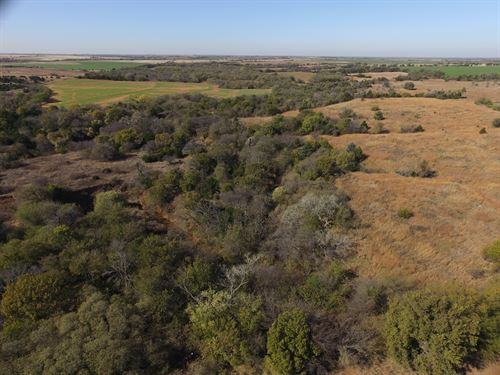 160 Acres Of Hunting And Farmland : Covington : Oklahoma County : Oklahoma