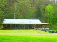 42.75 Ac W/2005 Ranch Home, Private : Celina : Clay County : Tennessee