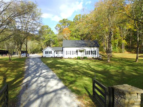 381 Acre Farm In Scenic Valley : Hampshire : Lewis County : Tennessee