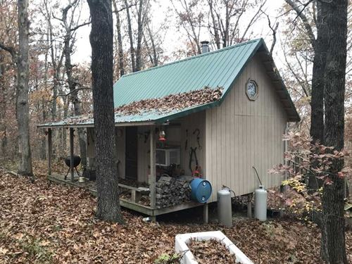 Reduced, Secluded 45 Acre Tract an : Stover : Morgan County : Missouri