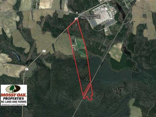 Under Contract, 118 Acre Livestoc : Whitakers : Nash County : North Carolina