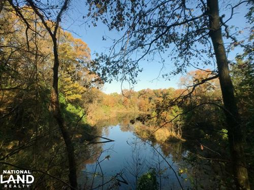 Strip Pit Hunting Tract With Income : Arcadia : Crawford County : Kansas