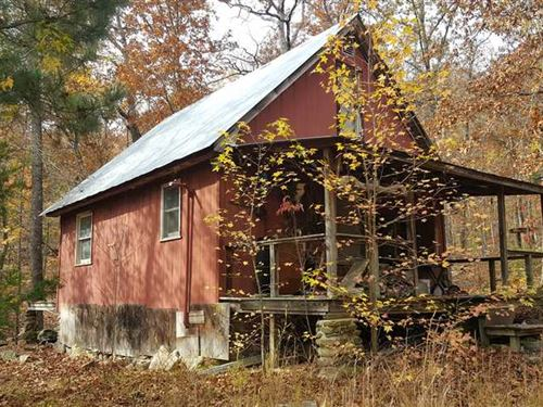40 Acres With Cabin Joining th : Jasper : Newton County : Arkansas