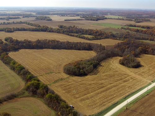 135 Acres Pike Rd 48 Pike County : Curryville : Pike County : Missouri