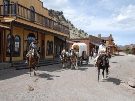 Old Cow Town Ranch : Saguache : Saguache County : Colorado