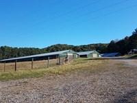 Four House Broiler Farm : Aragon : Polk County : Georgia