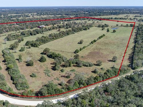Leon County Land & Home Auction : Normangee : Leon County : Texas